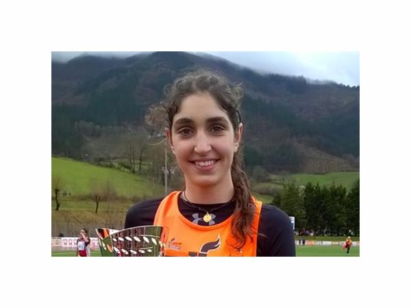 Ángela Viciosa, campeona de España sub-16 de cross