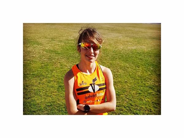 Andrea Román quinta en el Campeonato de Maratón