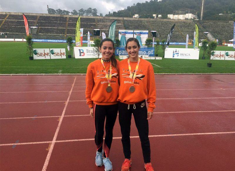 Carmen Viciosa y Sara García, subcampeonas de España en 5000 m.